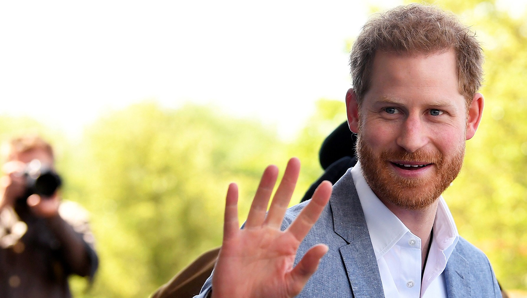 Prince Harry Visits Oxsrad Centre Opened By Princess Diana