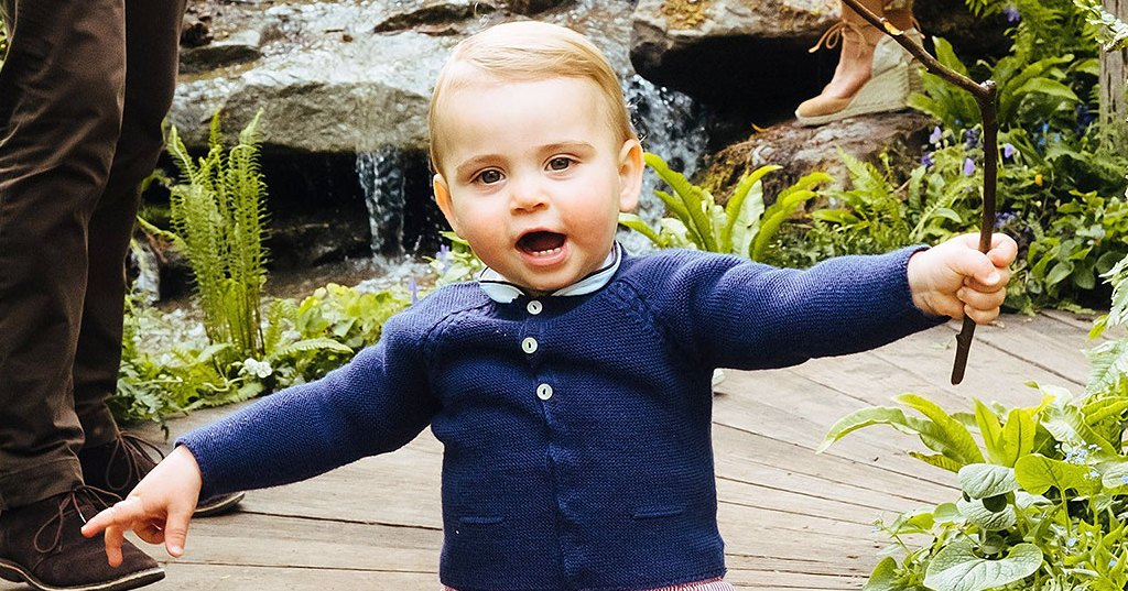Duchess Kate, Prince William's Son Prince Louis Walks in New Video