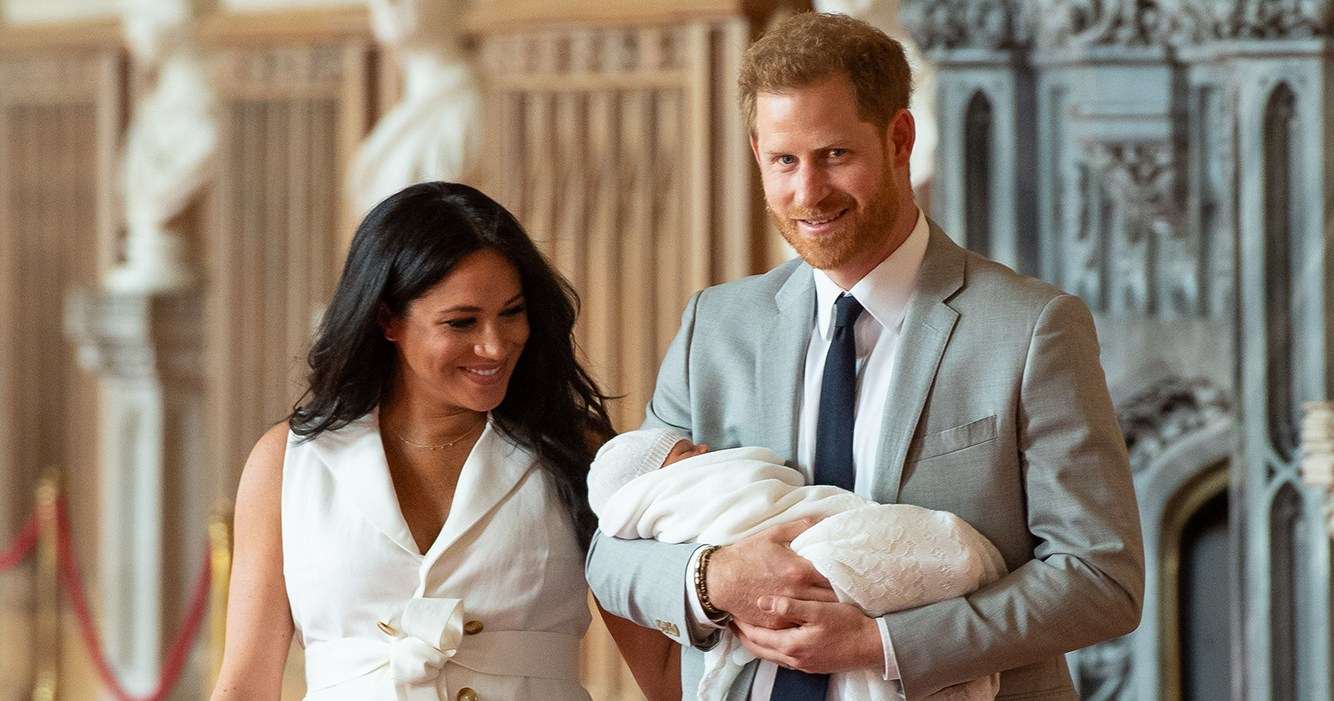 Prince Harry, Duchess Meghan Name Royal Baby Archie