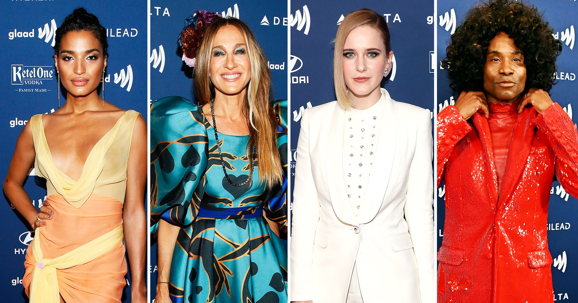 GLAAD Media Awards 2019 Red Carpet Fashion: See All the Stars' Styles