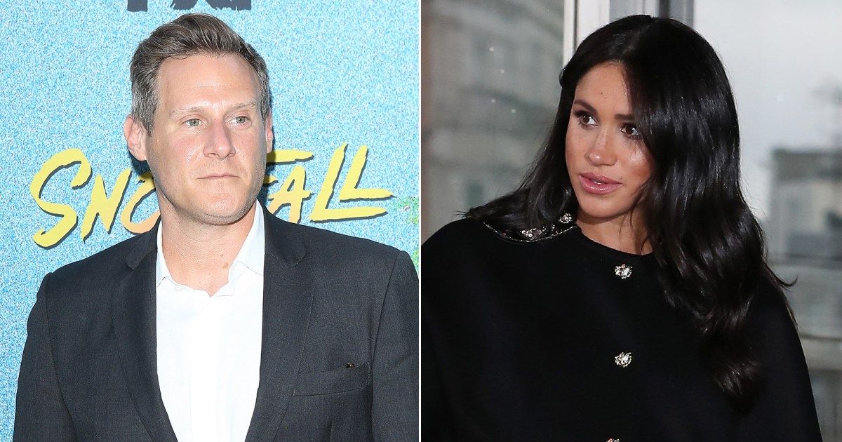 Trevor Engelson Reacts to Ex Duchess Meghan's Royal Baby's Birth