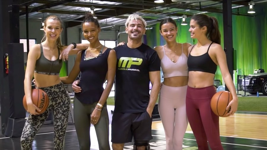 Zac Efron Does Circuits, Obstacle Course With Victoria's Secret Models, Hilarity Ensues