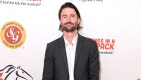 Brandon Jenner Wearing A White Shirt and Jacket