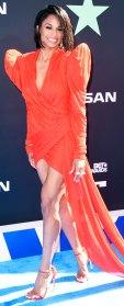Ciara Coral Dress BET Awards June 23, 2019