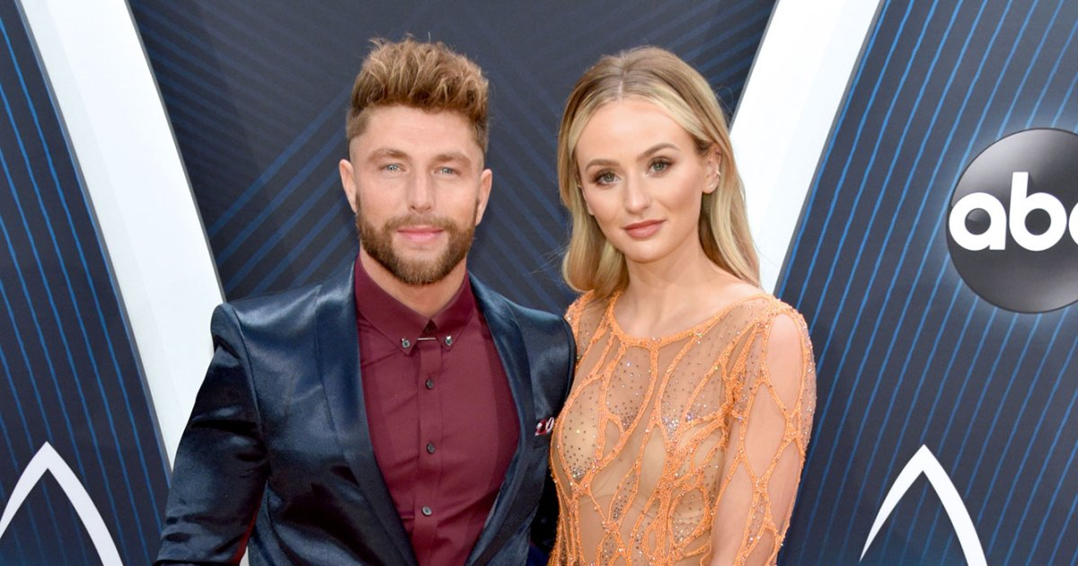 1cfde065 Lauren Bushnell and Chris Lane's Whirlwind Romance: Photos