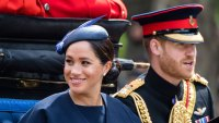 Duchess Meghan New Diamond Ring From Prince Harry Anniversary Gift Not a Push Present