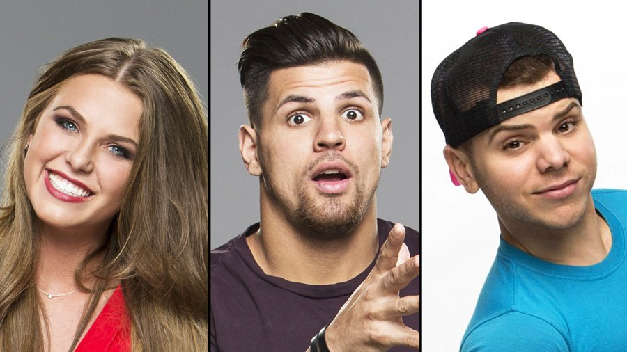 Haleigh Broucher Faysal Shafaat and JC Mounduix Big Brother Alums Reunite For Premiere Party