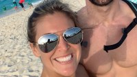 Haley Stevens and Jed Wyatt At The Beach Wearing Sunglasses