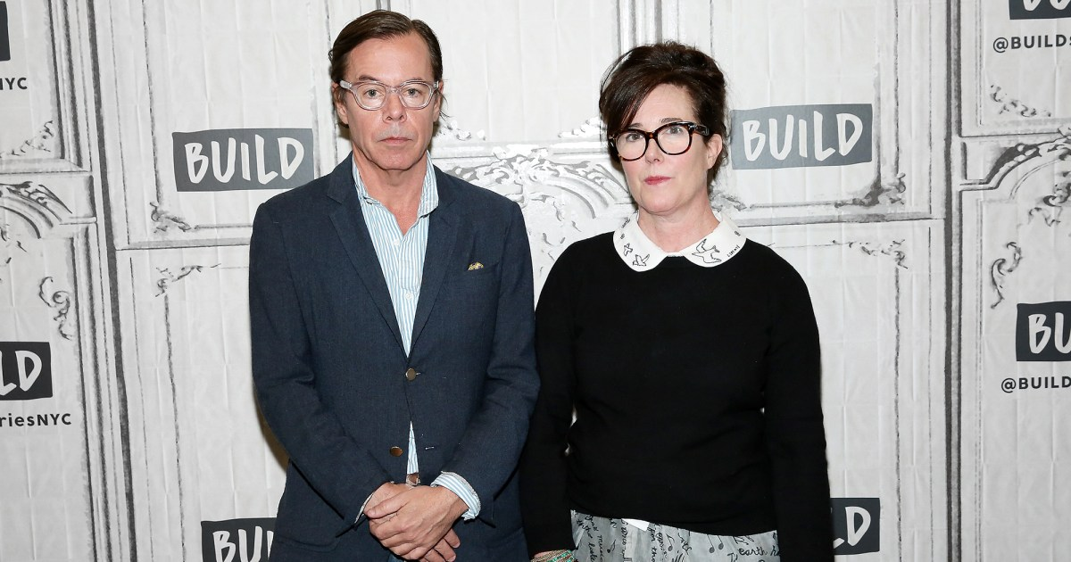 Kate Spade's Husband Posts 1 Year After Her Death