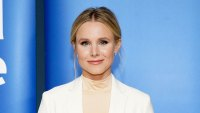 Kristen Bell Dressed In White Suit