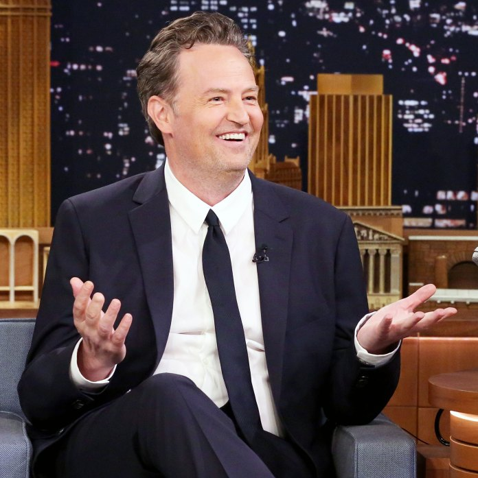 Matthew Perry on 'The Tonight Show Starring Jimmy Fallon' Jokes He Will Get a 'Manicure' After Unflattering Photos Surface
