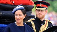 Prince Harry 'Recommends' Duchess Meghan 'Moves With Ease' Amid Charity Rift Trooping the Colour
