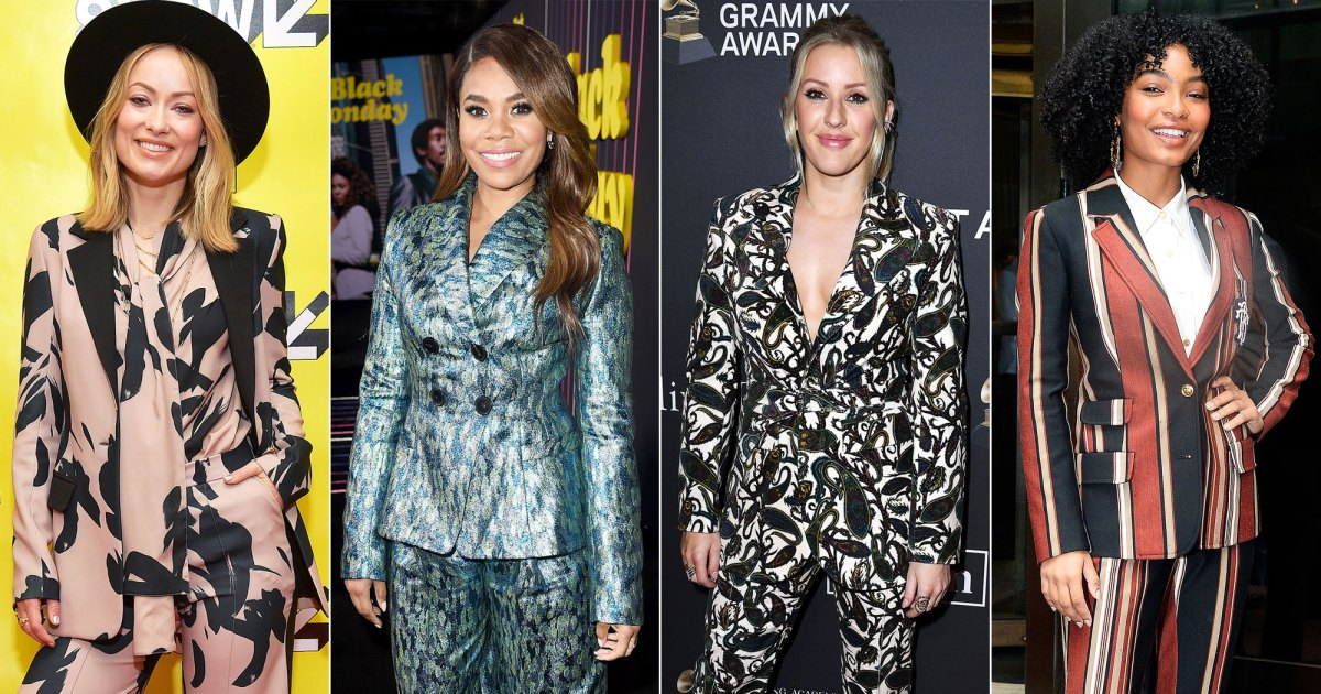 Printed Suits Galore! Hollywood Powerhouses Love Patterned Two-Pieces on the Red Carpet