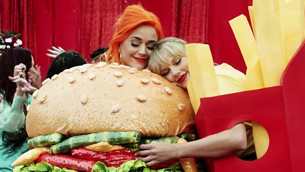 Times Katy Perry Dressed Up as Food Taylor Swift