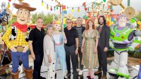 Tom Hanks, Annie Potts, Tim Allen, Tony Hale, Christina Hendricks and Keanu Reeves Actors Behind the Voices Toy Story