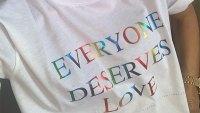 Victoria Beckham Pride Shirt Instagram