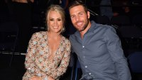 Watch Carrie Underwood's Son, 5 Months, Cry When Dad Mike Fisher Sings, Stop When Mom Sings 2019 CMT Music Awards