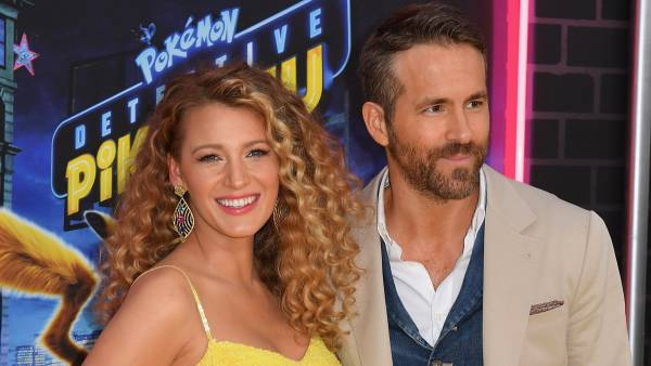 Ryan Reynolds and Blake Lively together.
