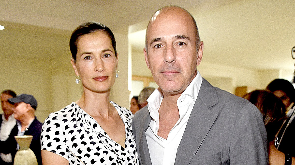 Matt Lauer's Wife Annette Roque Officially Files For Divorce From Former 'Today' Show Host