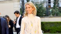 Celine-Dion-feather-dress-Paris-Fashion-Week