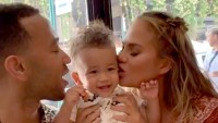 Chrissy-Teigen-and-John-Legend's-14-Month-Old-Son-Miles-takes-first-steps-2