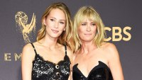 Dylan Penn and Robin Wright September 17, 2017