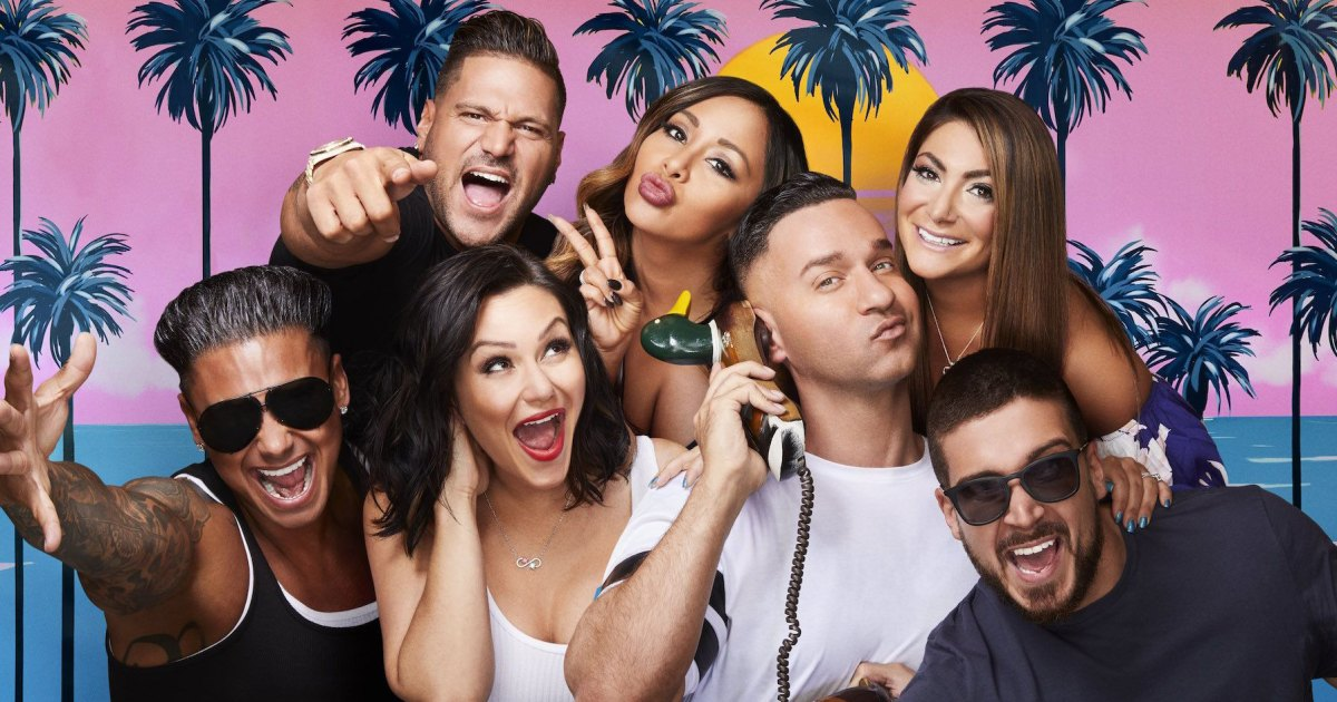 Cast of 'Jersey Shore', then and now