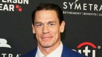 John Cena Blue Suit December 11, 2018