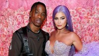 Travis Scott and Kylie Jenner attend The 2019 Met Gala Snuggle Up in Instagram Photo