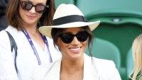 Meghan Markle A Necklace Wimbledon July 4, 2019