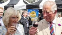 Prince Charles Duchess Camilla Eat Up on Latest Trip