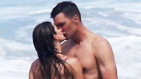 Shirtless Tom Brady Bikini-Clad Gisele Bundchen Turn Up the Heat Costa Rican Beach
