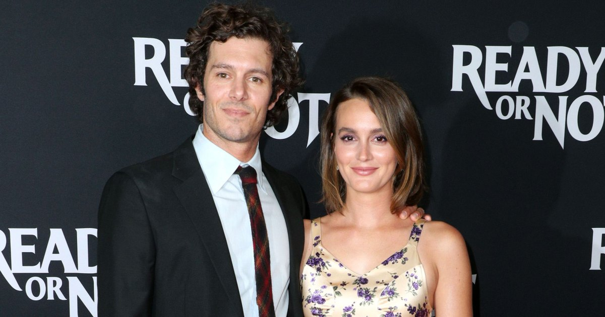 PDA Alert! Adam Brody and Leighton Meester Make a Rare Red Carpet Appearance