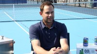 Andy Roddick Talks About Changing Diapers Interview