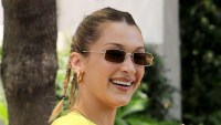 Bella Hadid All Smiles Hollywood After Split The Weeknd