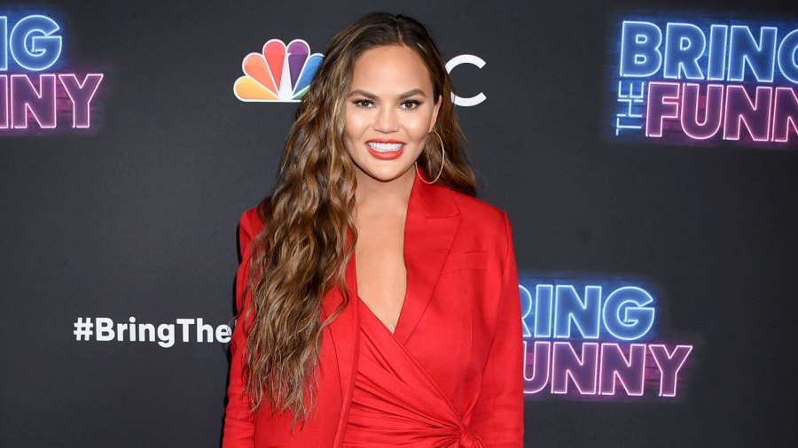 Chrissy Teigen Dressed In Red With Red Heels 25 Things You Don't Know