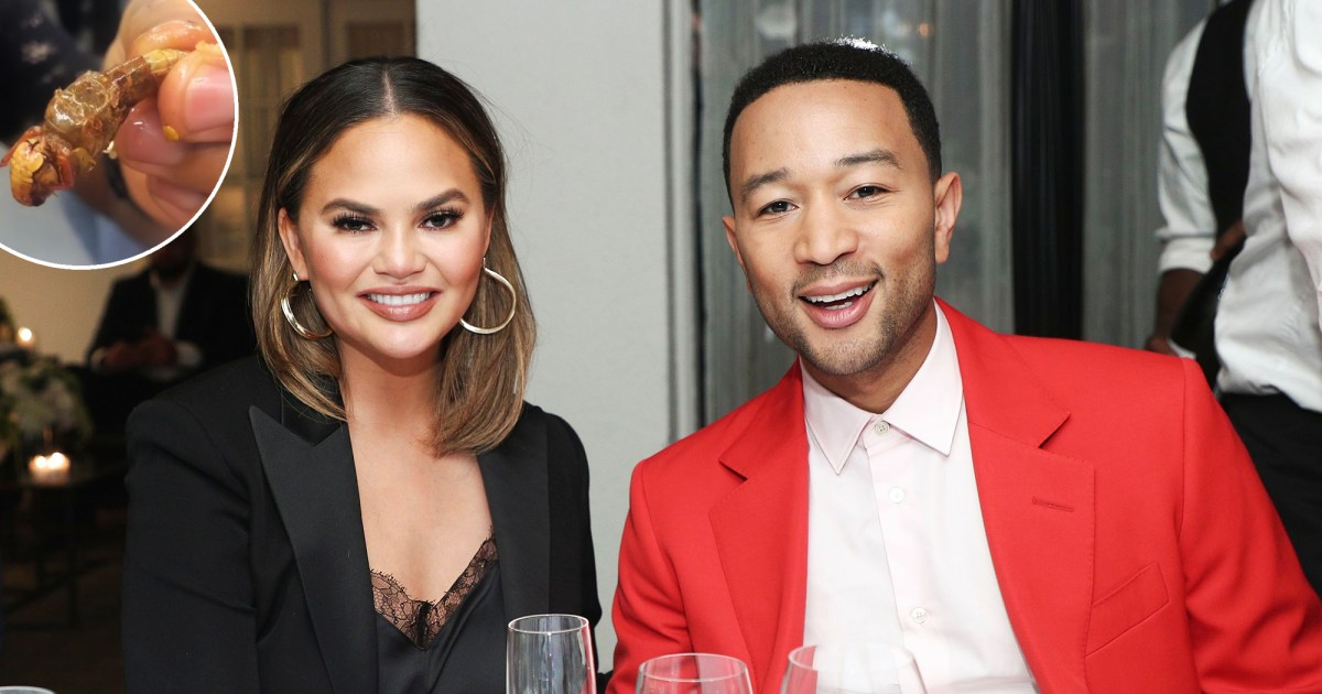 Everything Chrissy Teigen and Family Have Eaten on Thailand Vacation: Silkworms, Crickets and More