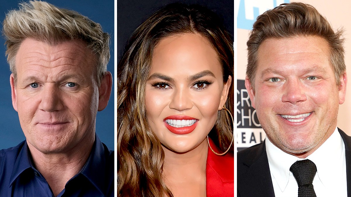 Gordon Ramsay Weighs In After Chrissy Teigen Tells Follower to Make Tyler Florence's Beef Wellington Recipe