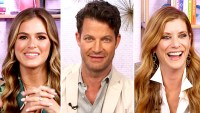 Hilarious-Back-to-School-Memories JoJo Fletcher, Nate Berkus, and Kate Walsh