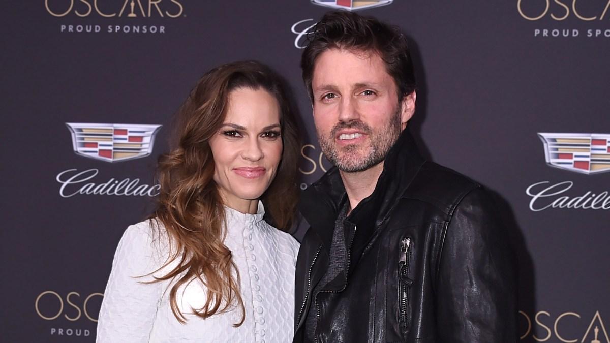 Hilary Swank Celebrates 1-Year Wedding Anniversary With Husband Philip Schneider