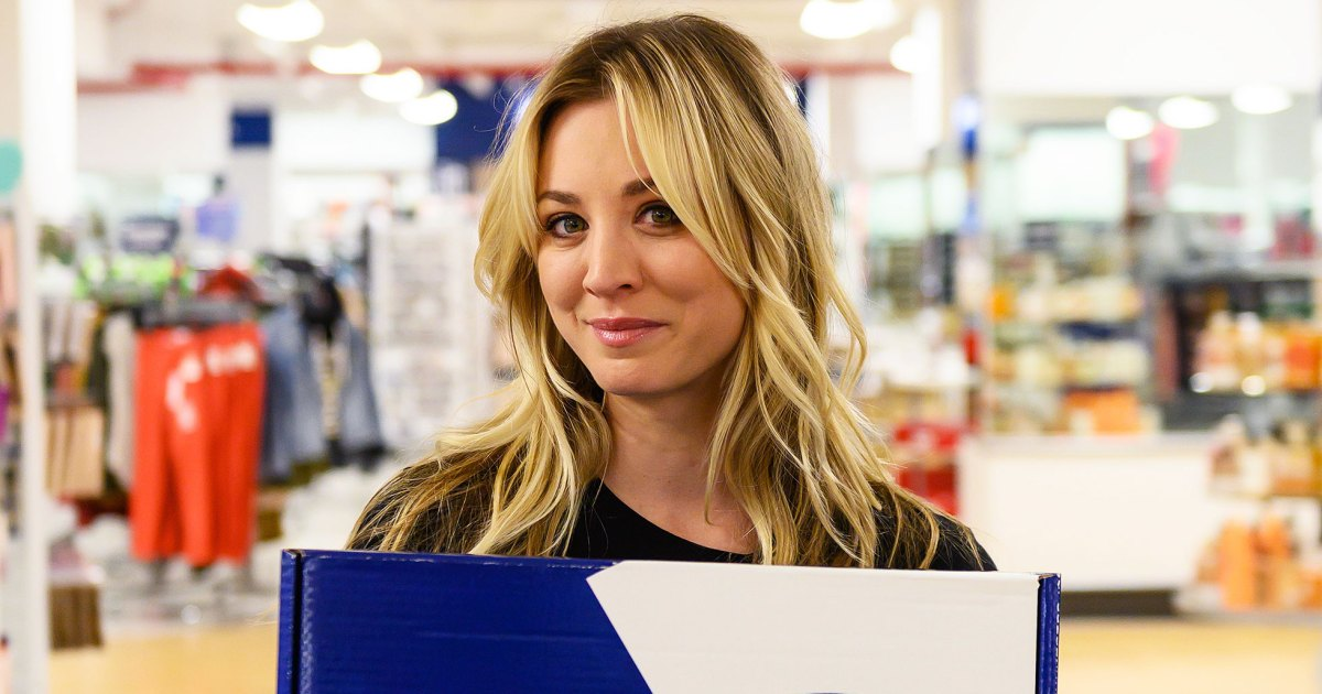 Kaley Cuoco and Marshalls Unveil Surprise Boxes: More Info
