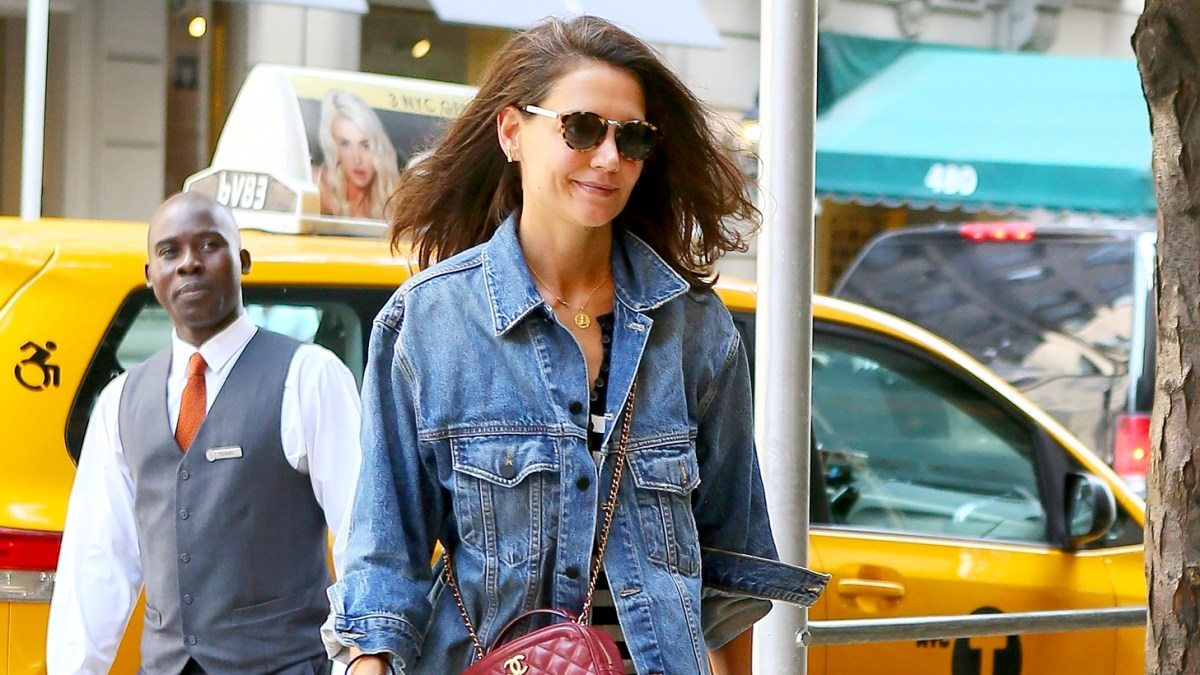 Katie Holmes Steps Out Smiling in NYC as Jamie Foxx Is Spotted With Another Woman