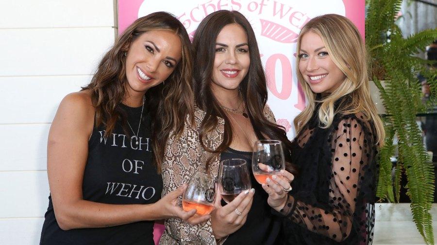 Kristen Doute, Katie Maloney Schwartz, and Stassi Schroeder Witches of Weho Wines