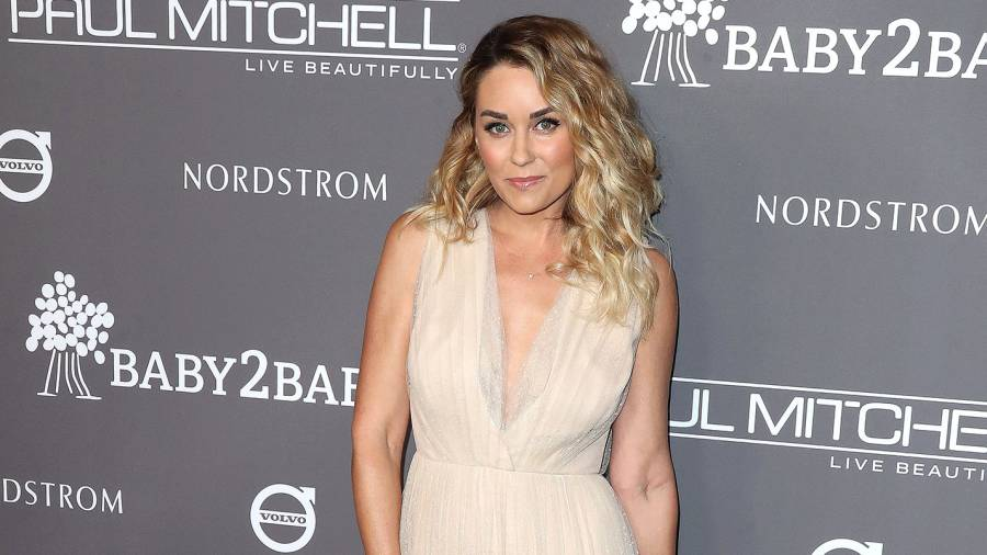 Lauren Conrad Long White Dress Pays Tribute to Late Dog