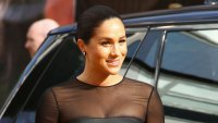 Meghan Markle Lion King Suits Comment Black Dress