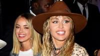 Miley Cyrus Kaitlynn Carter Hold Hands After VMAs Show PDA