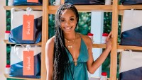 Rachel Lindsay at The Knot Registry House