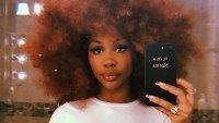 SZA Natural Curls Instagram August 6, 2019