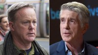 Sean Spicer Reacts to Tom Bergeron's Statement
