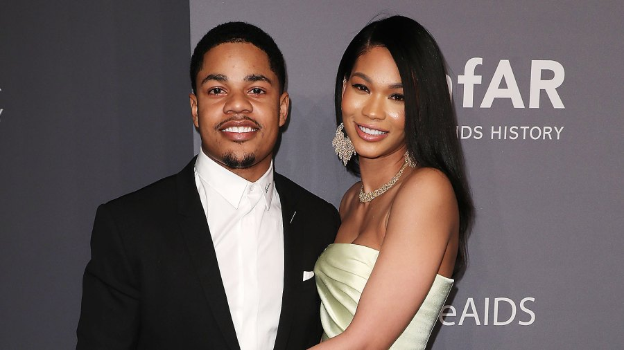 Sterling-Shepard-Gushes-Wife-Chanel-Iman